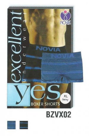 BZVX02 Excellent boxer shorts pruhy
